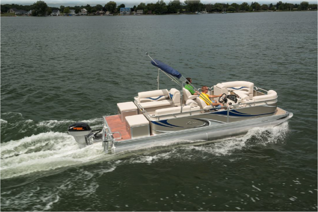 Ruckmarine Electric Sportboats Apex Marine Electric Pontoon