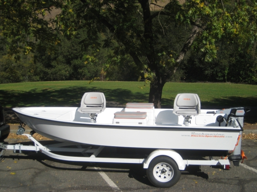 Ruckmarine Electric Sportboats - Demo Boats and Motors for Sale